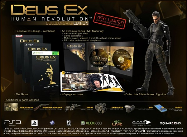 Deus Ex: Human Revolution - Collectors Edition
