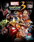 Marvel vs Capcom 3: Fate of Two Worlds Box Art