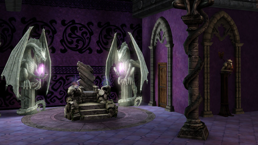The Sims Medieval Dark Magic Throne Room Game Preorders