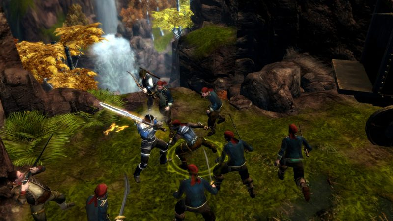 Dungeon Siege 3 Screenshot - Surrounded