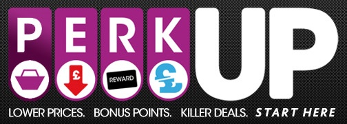 GAME.co.uk PERK UP promotion