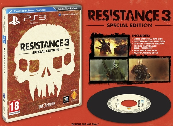 Resistance 3 Special Edition Contents
