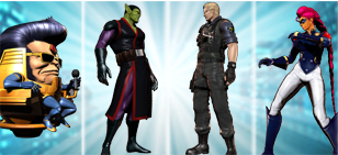 Ultimate Marvel vs Capcom 3 - Villain Costumes