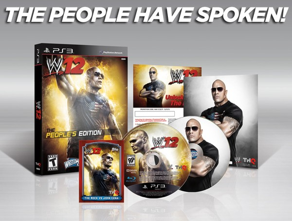 WWE 12 - Collectors Edition (aka The Peoples Edition)