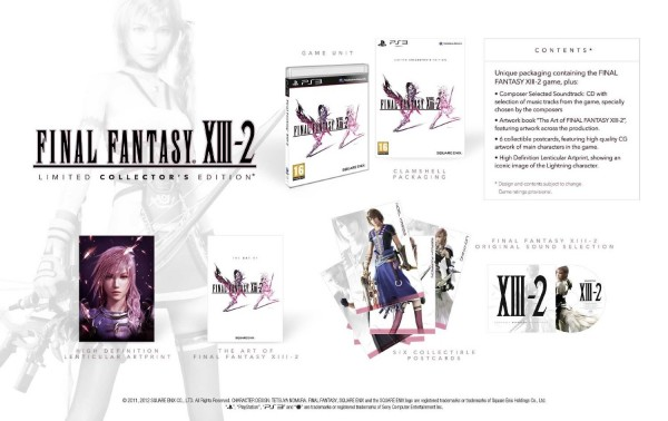 Final Fantasy XIII-2 - Limited Collector's Edition