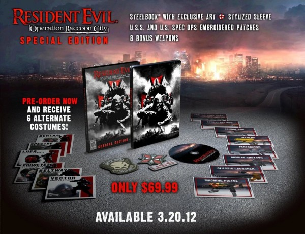 Resident Evil: Operation Raccoon City - Limited Edition