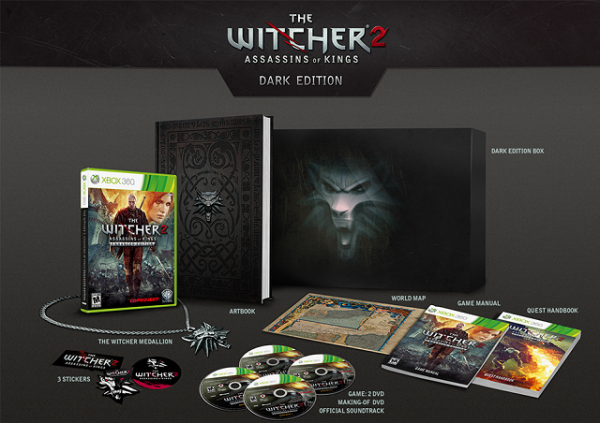 The Witcher 2 - Dark Edition Contents