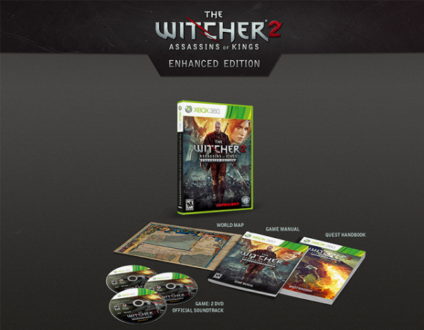 The Witcher 2 - Enhanced Edition Contents