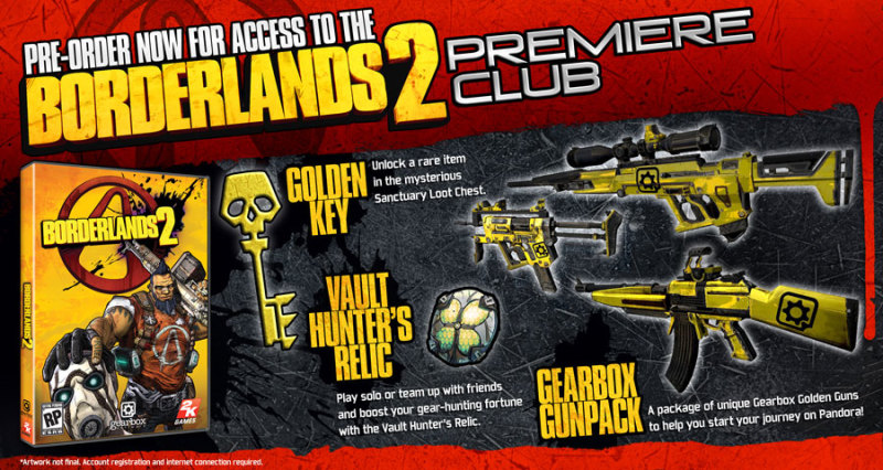 Borderlands 2 - Premiere Club