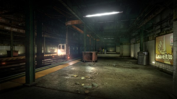 RE6 Rail Yard Map Screenshot
