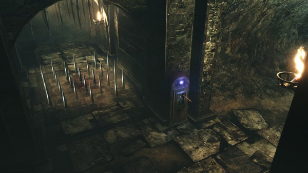 RE6 Catacombs Map Screenshot