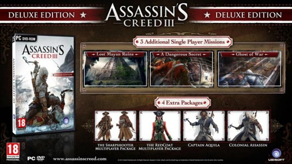 Assassin's Creed 3 Digital Deluxe Edition
