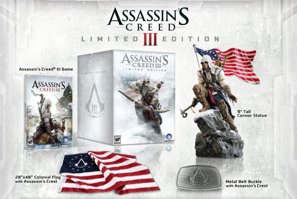 Assassin's Creed 3 Limited Edition