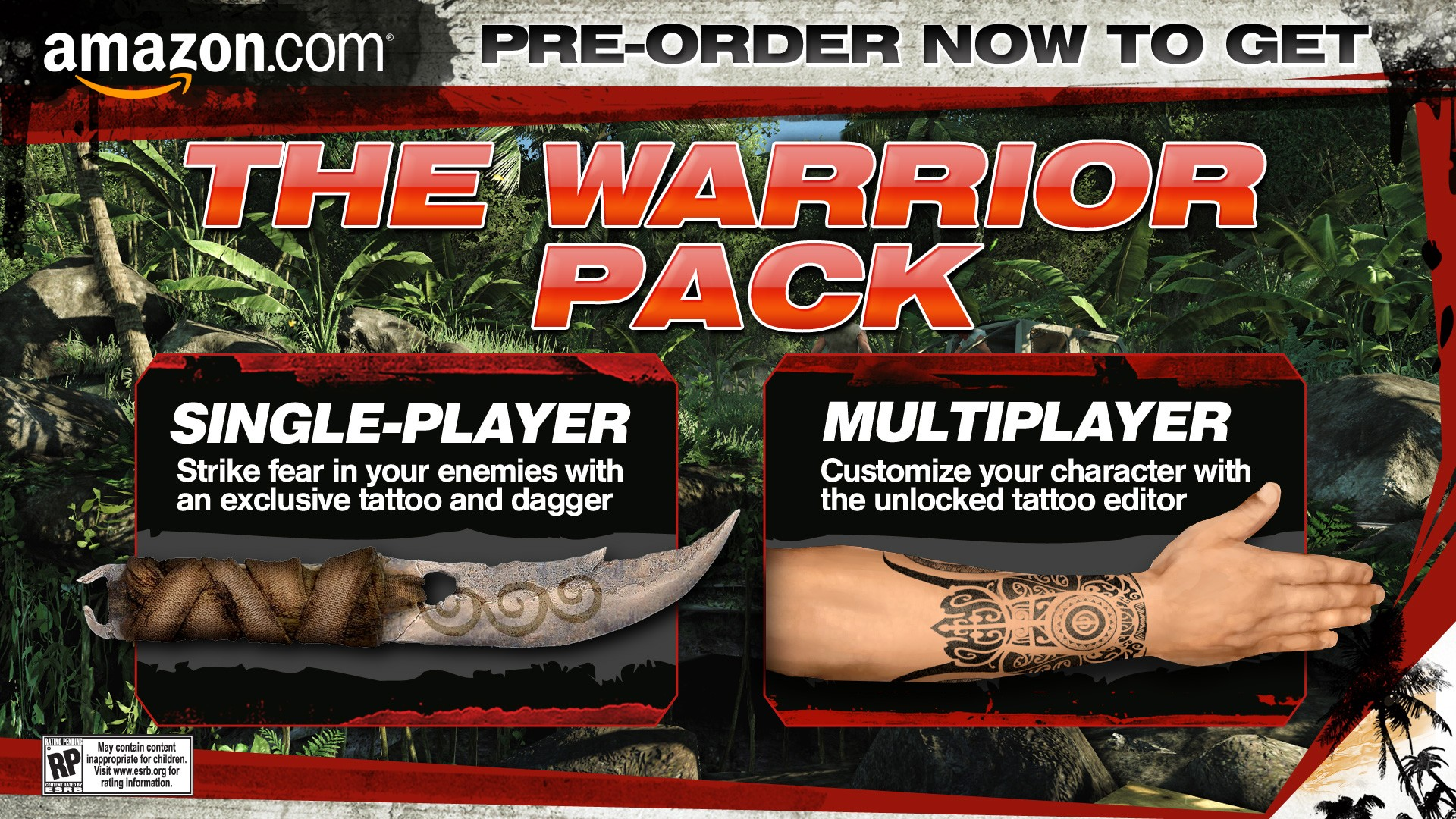 Far Cry 38 – Warrior Pack | Game Preorders - Far Cry 3 Tattoo
