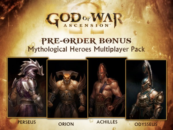 Mythological Heroes Multiplayer Pack