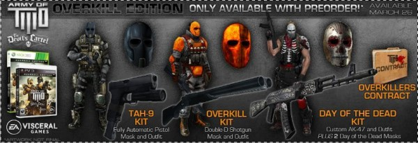 Army of Two Devils Cartel Overkill Edition