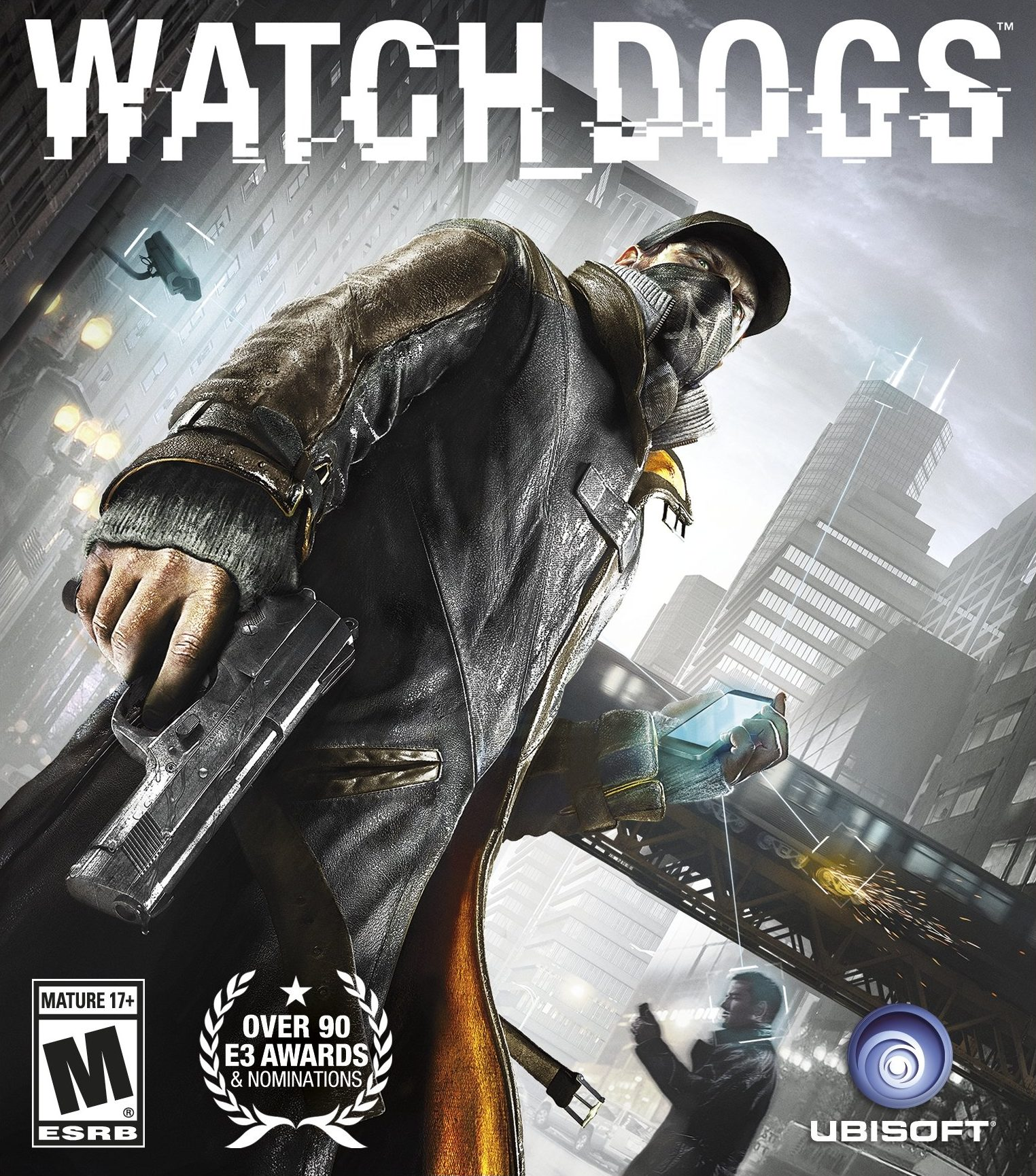 Watch Dogs Cover Art Game Preorders