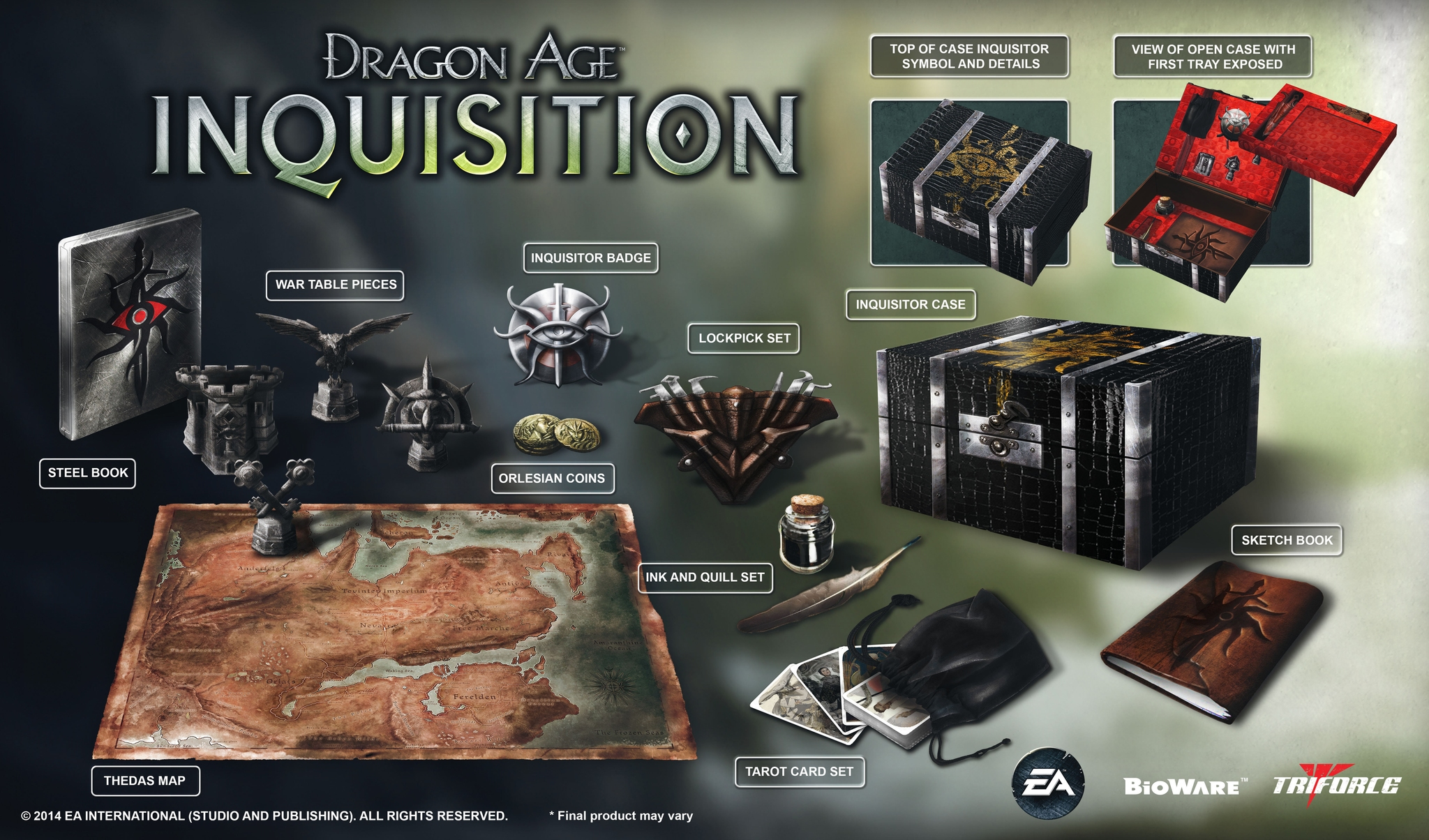 Lastly We Have The Inquisitors Edition Which Is Exclusive To
