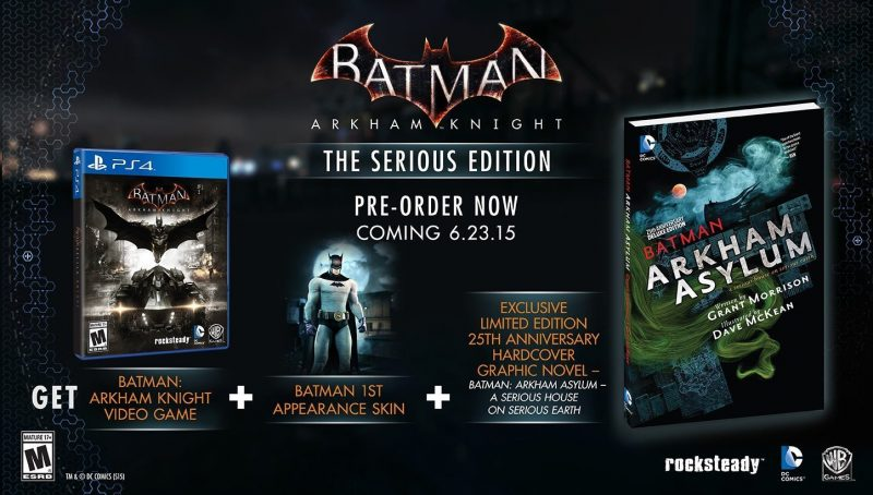 Arkham Knight Serious Edition