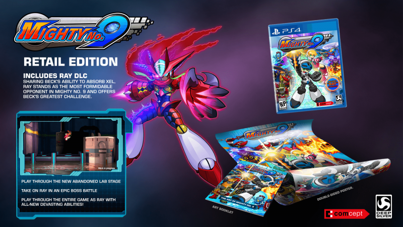 Mighty No 9 Retail Edition