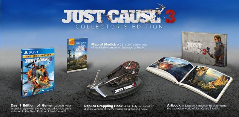 JC3 Collectors Edition