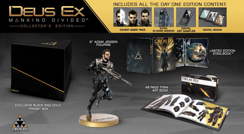 Mankind Divided Collectors Edition