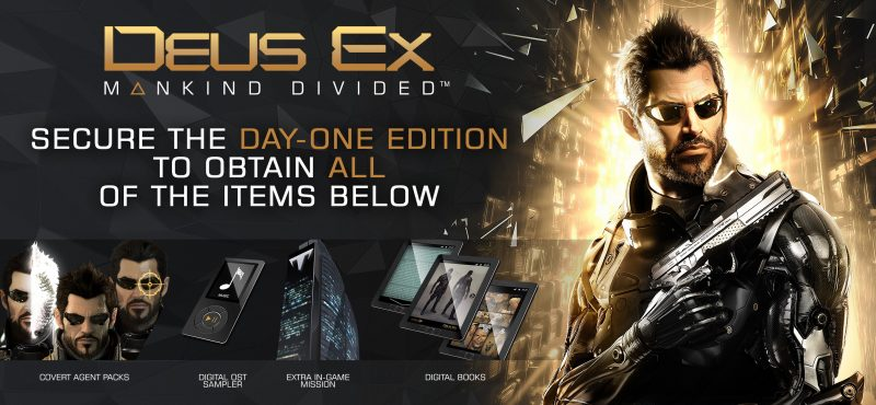 Mankind Divided Day One Edition