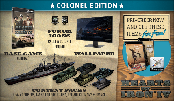 HoI IV Colonel Edition