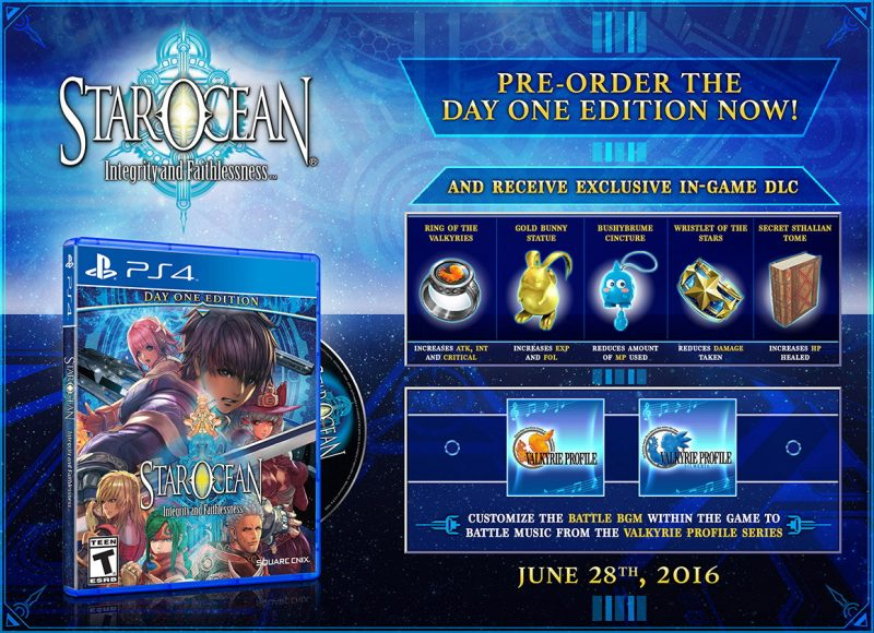Star Ocean 5 Day One Edition