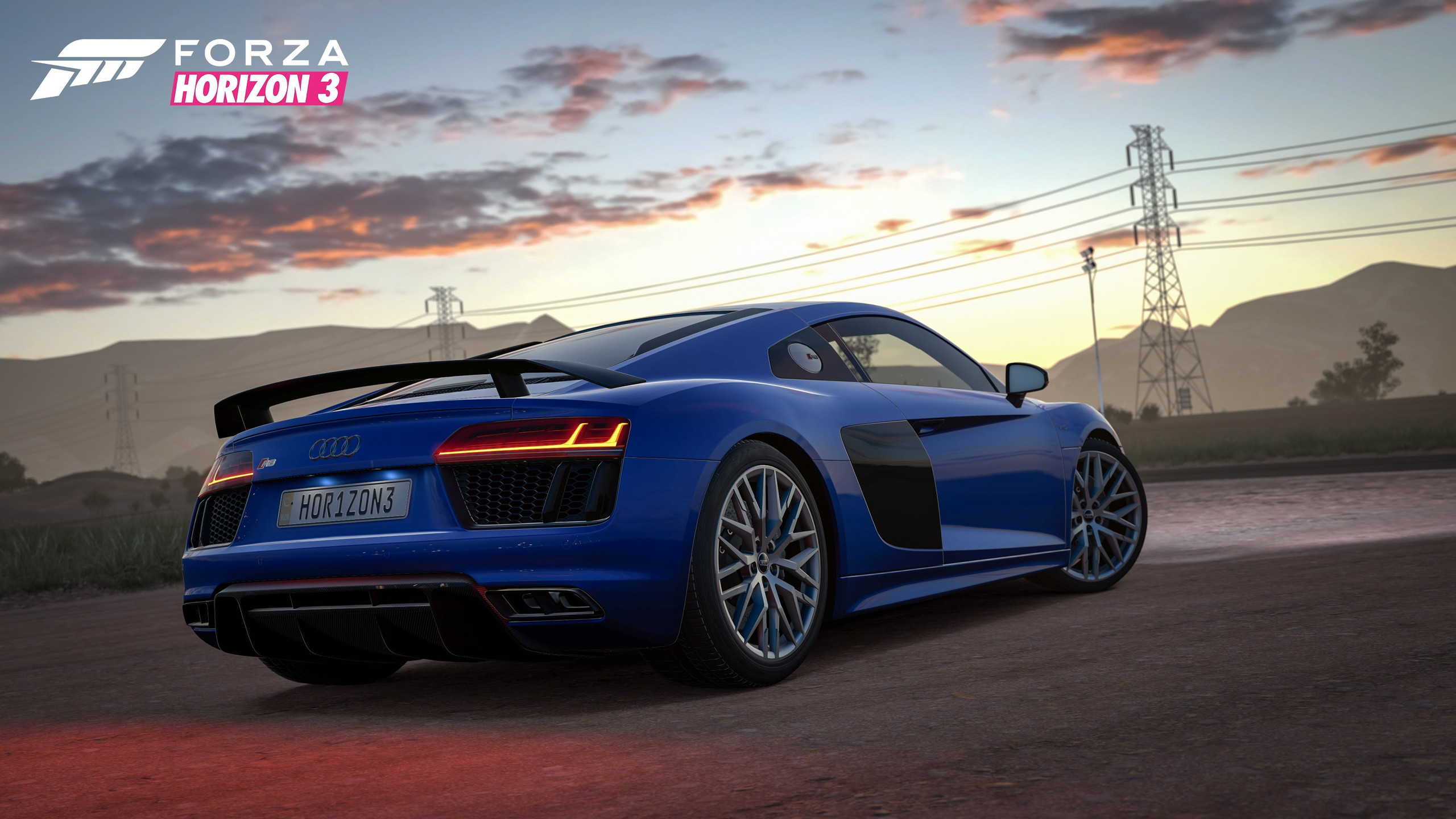 Audi R8 V10 Plus is available as a bonus with Forza Horizon 3 pre