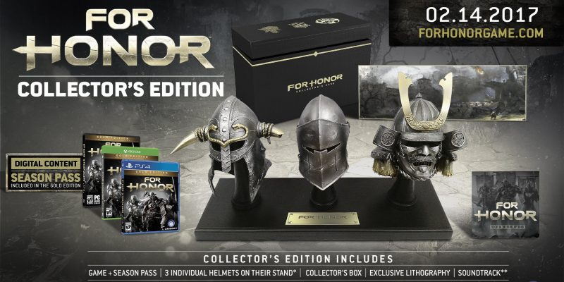 For Honor Uplay Collectors Edition