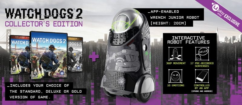 Watch Dogs  Collectors Edition Gold