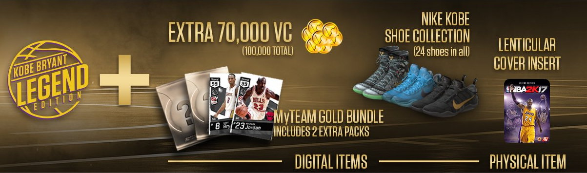 nike shoes nba 2k17 legend edition gold 944541