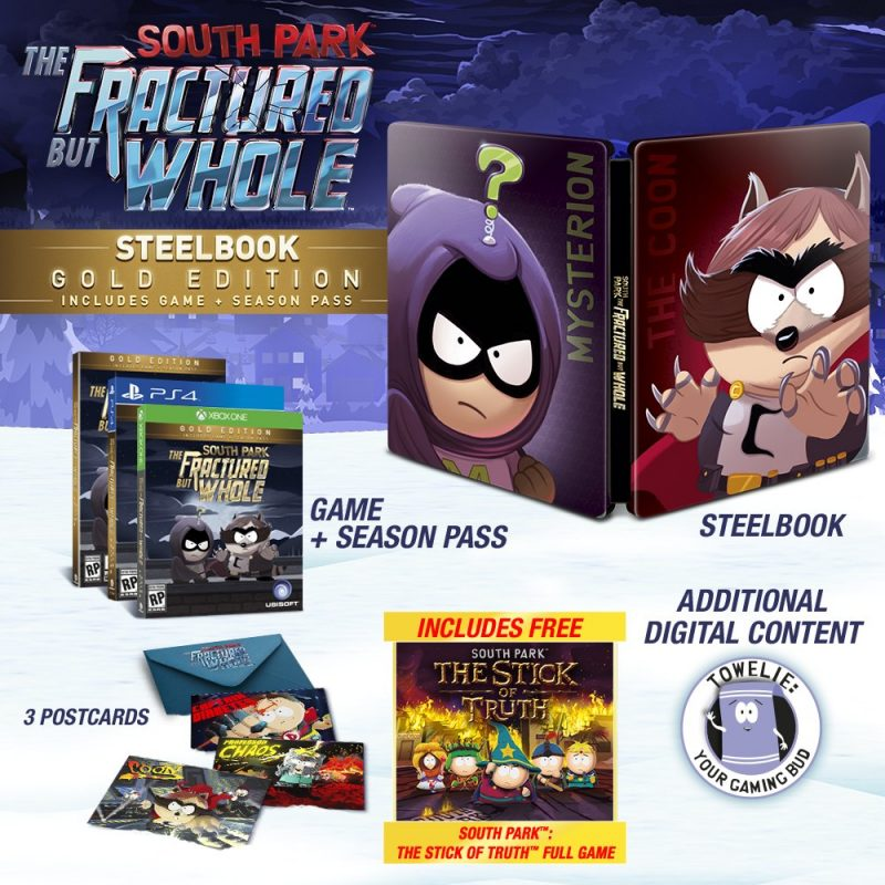South Park: The Fractured But Whole - Steelbook Gold Edition