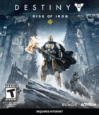 Destiny: Rise of Iron Box Art