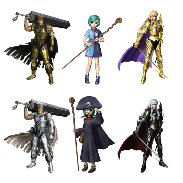 Berserk and the Band of the Hawk Costumes