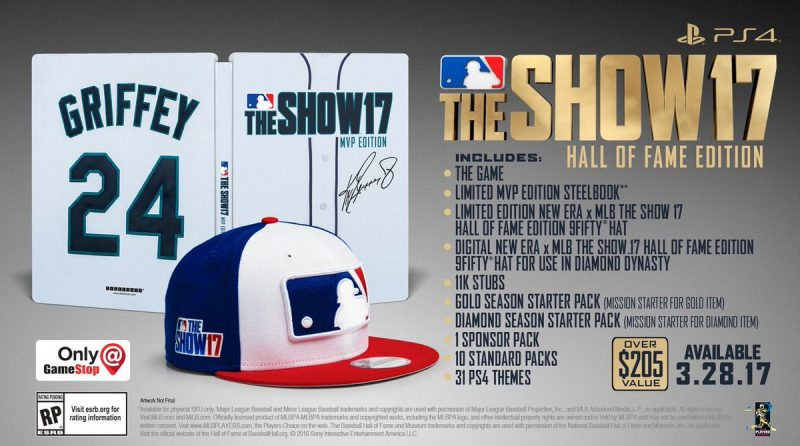 MLB The Show 17 Hall of Fame Edition