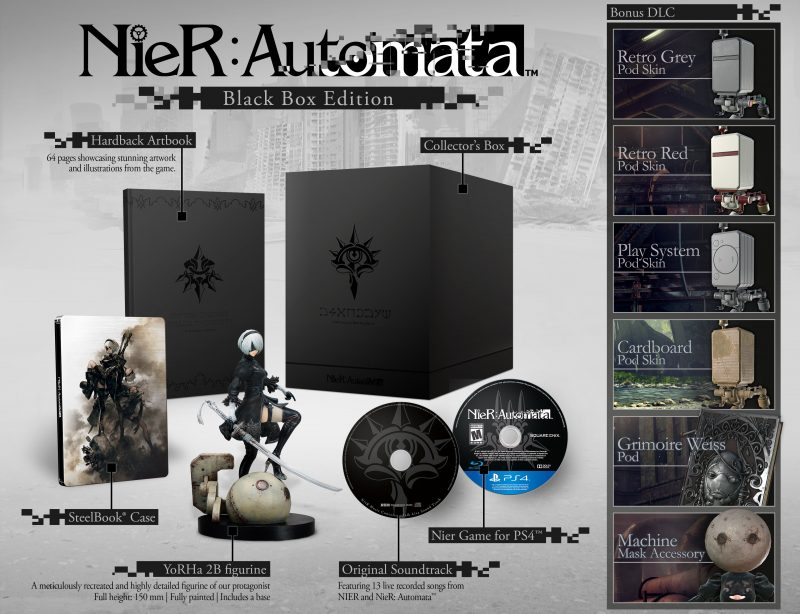 NieR Automata Black Box Edition