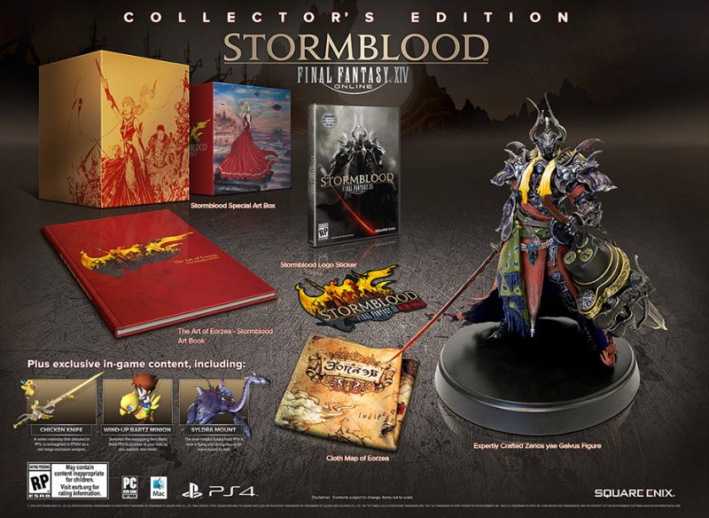 Final Fantasy XIV: Stormblood - Collector's Edition