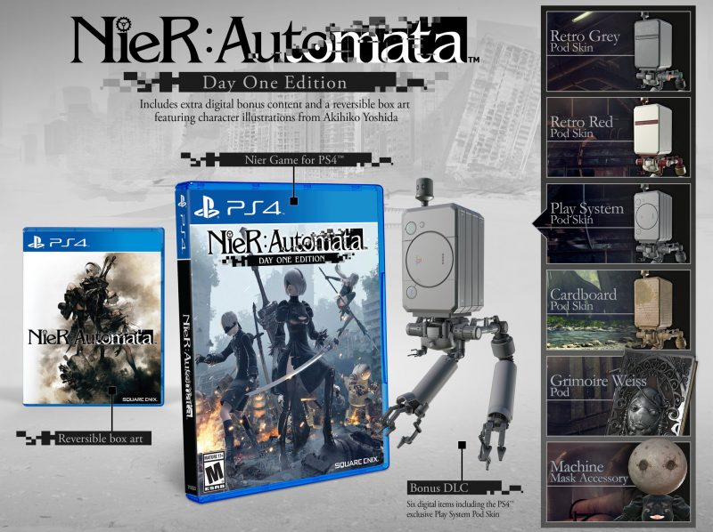 Nier Automata Day 1 Edition