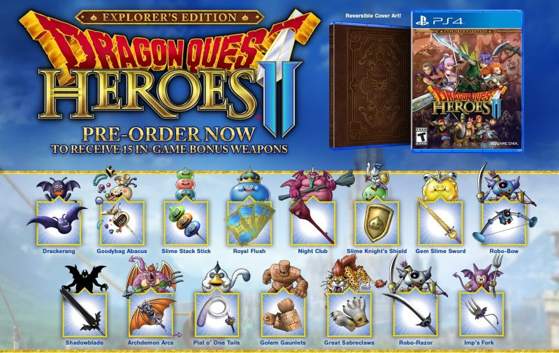Dragon Quest Heroes II - Explorer's Edition