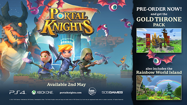 Portal Knights - Gold Throne Pack