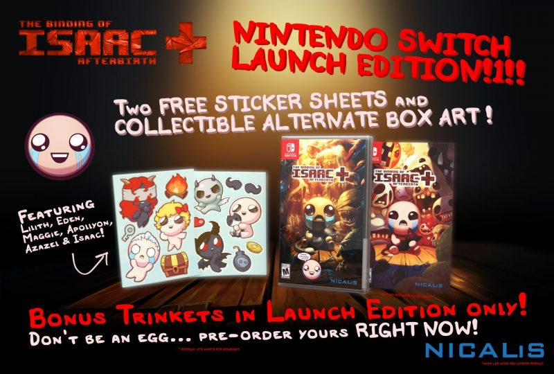The Binding of Isaac: Afterbirth+ - Launch Edition