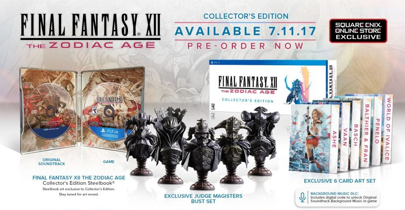 Final Fantasy XII: The Zodiac Age - Collector's Edition