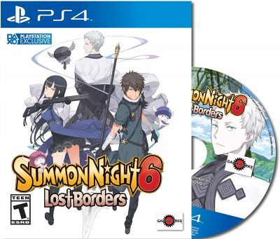 Summon Night 6: Lost Borders - Ist Edition
