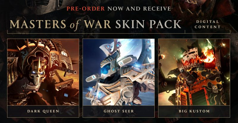 Dawn of War III - Masters of War Skin Pack