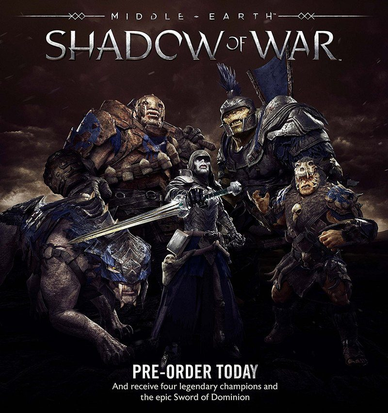 Middle-earth: Shadow of War - Preorder Bonuses
