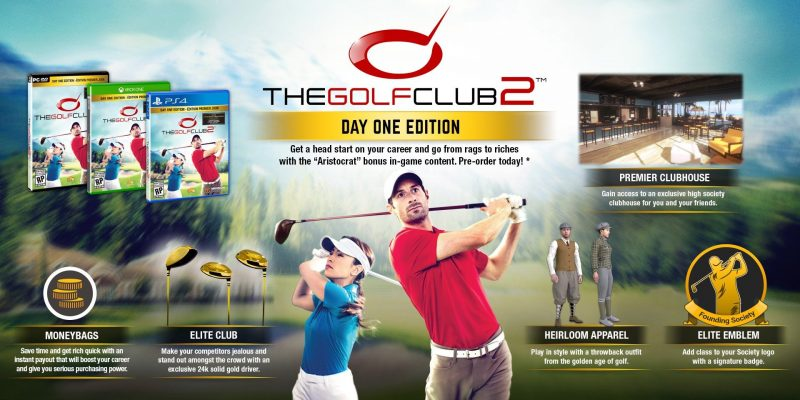 Golf Club 2 - Day One Edition