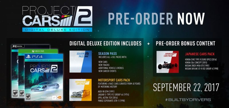 Project CARS 2 - Digital Deluxe Edition