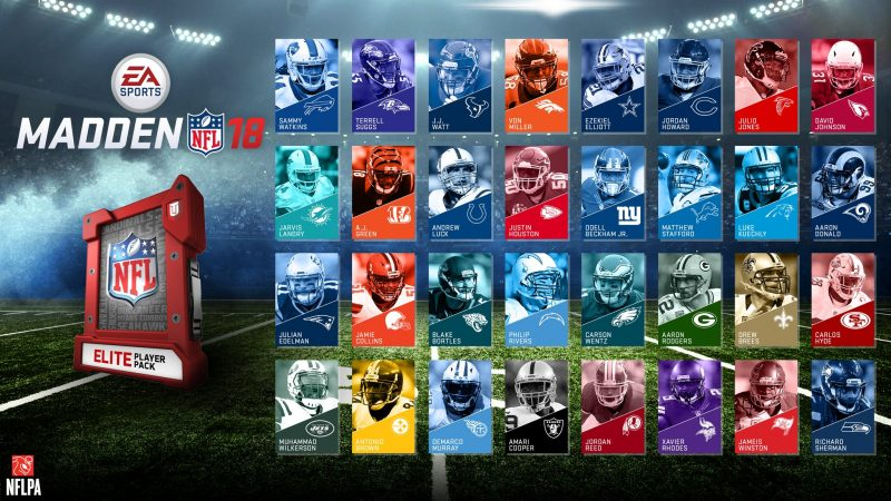 Madden NFL 18 - Elite Player Pack